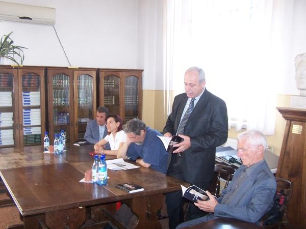 Ion Trancău, Olimpia Bratu, Ion Popescu Brădiceni, Victor Troacă si Dumitru Dănău