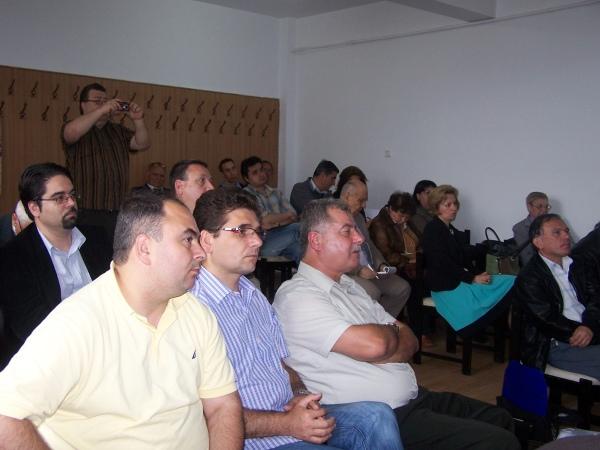 Cornel Şomâcu, George Alexandrescu şi Gheorghe Nichifor