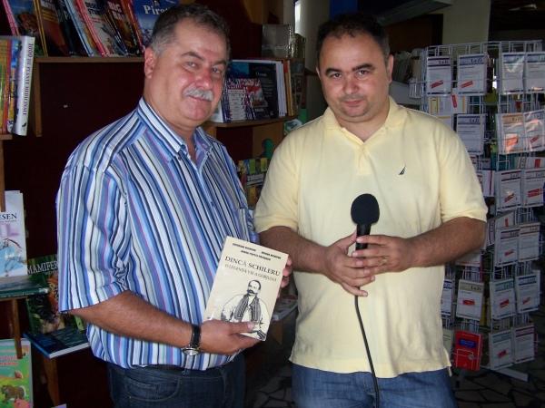 Gheorghe Nichifor şi Cornel Şomîcu la emisiunea care va fi difuzată în 11 iunie 2012
