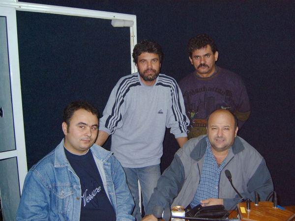 Cornel Șomîcu, Ovidiu Popescu, Sorin Călugărița și Dorin Brozbă-2004.