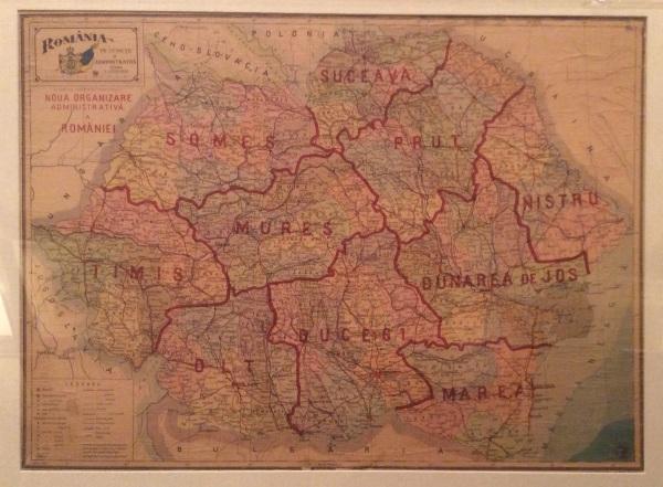 Harta Romaniei 1939